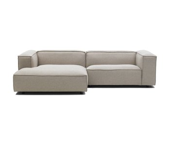 FEST Amsterdam Dunbar modular bench sofa polvere 21 beige