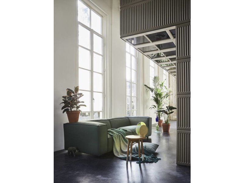 FEST Amsterdam Dunbar modulopbygget sofa sofa 991 Kvadrat helten grøn grå