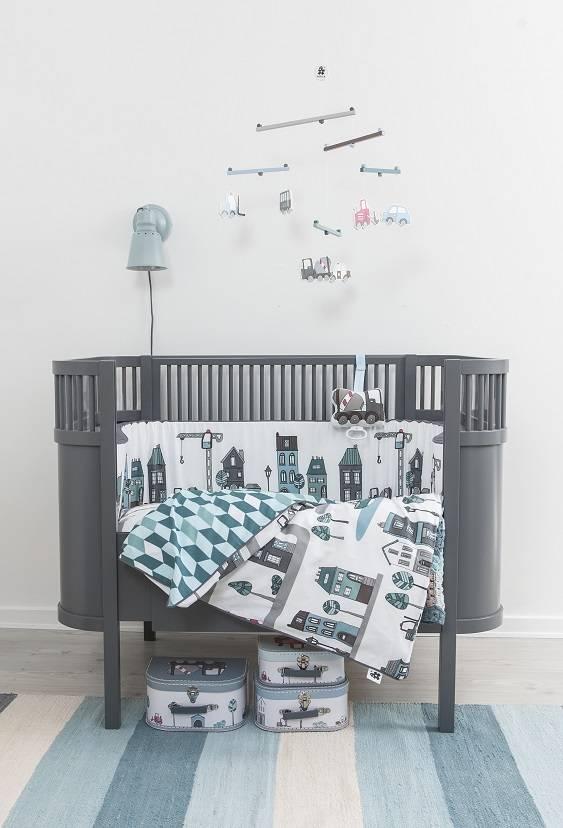 Fantastisk Sebra Kili bed ledikant baby junior grijs - LIVING AND CO. RR-15
