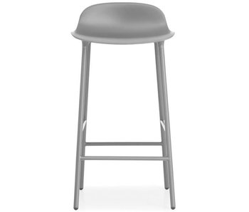 Normann Copenhagen Form Barstoel steel gray