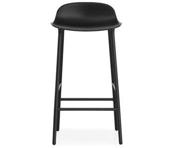 Normann Copenhagen Form Barstoel stål sort