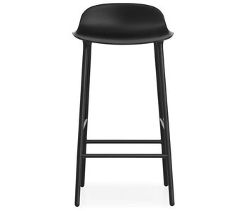 Normann Copenhagen Form Barstool steel black
