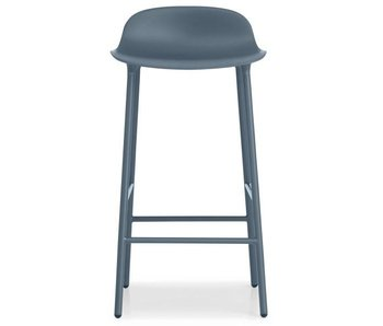 Normann Copenhagen Form Barstoel steel blue