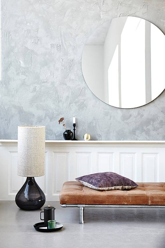 good looking doctor who bedroom wallpaper.  House Doctor Walls mirror gray 80 cm round grey LIVING AND CO