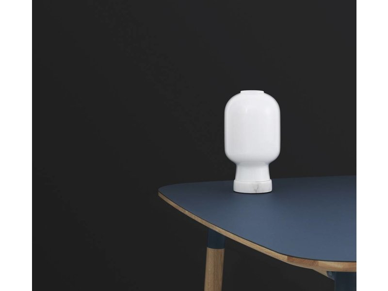 normann copenhagen amp table lamp white living and co. Black Bedroom Furniture Sets. Home Design Ideas