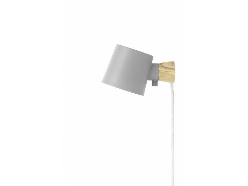 Normann Copenhagen Rise wandlamp grijs