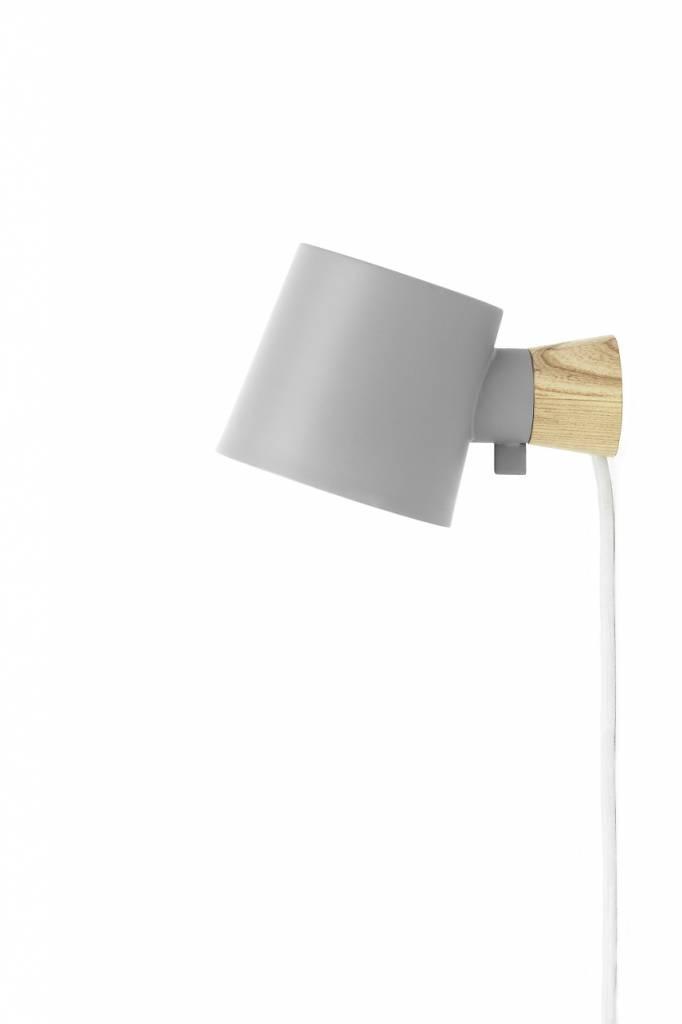 Normann copenhagen rise wall lamp gray