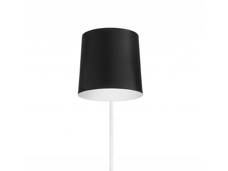 Normann Copenhagen Rise wandlamp zwart