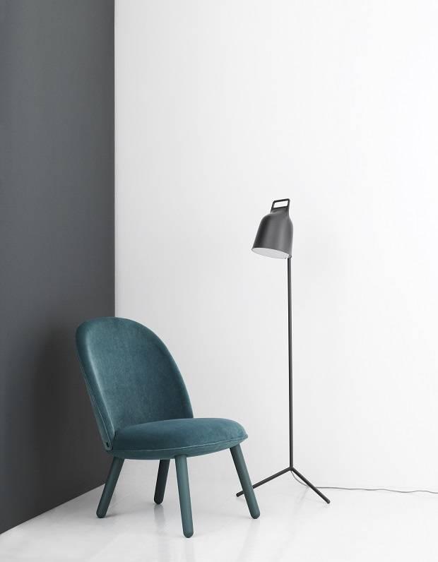 Normann copenhagen stage floor lamp gray