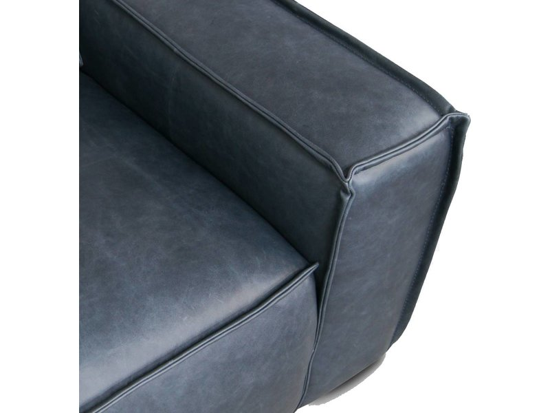 FEST Amsterdam Edge 3-zits bank sofa leer Da Silva 15005