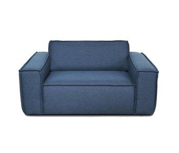 FEST Amsterdam Edge-Sofa Substanz Sydney 80 blau