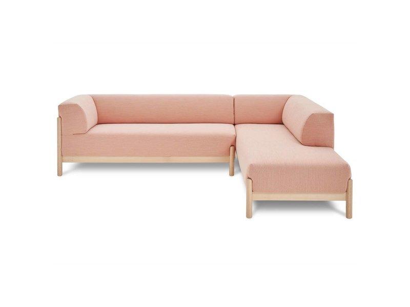 ... FEST Amsterdam Kate Sofa Lounge Kvadrat Steelcut Trio 515 Rosa Stoff ...