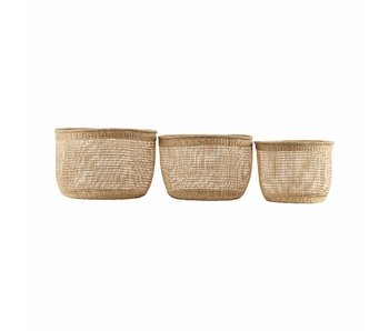 House Doctor Shape baskets set of 3