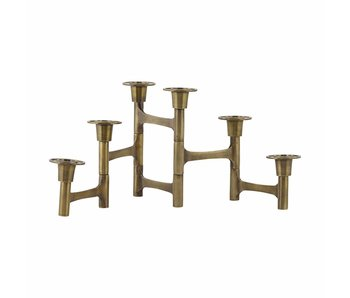 House Doctor Move brass candlestand