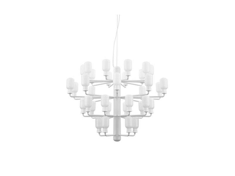 Normann Copenhagen Amp Chandelier Large Lamp White