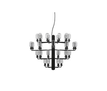 Normann Copenhagen AMP Chandelier Large hanging lamp black