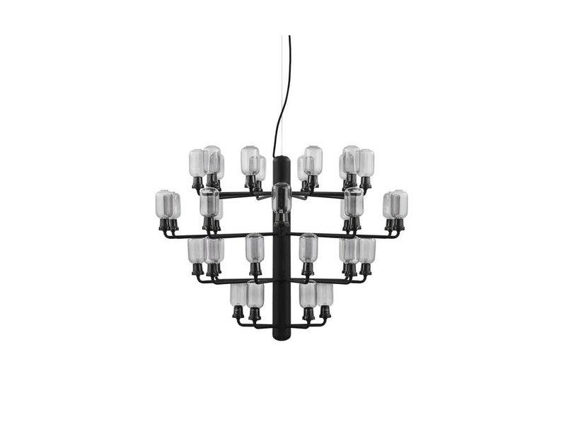 Normann Copenhagen AMP Chandelier Large hanglamp zwart