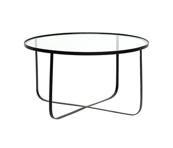 Bloomingville Harper coffee table metal glass black