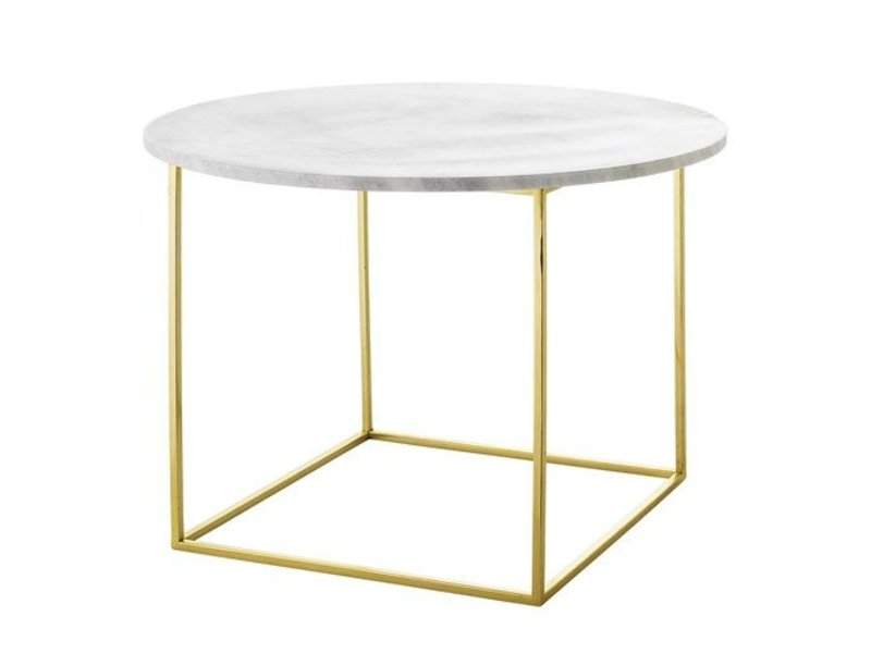 Bloomingville Eva coffee table marble - LIVING AND CO.