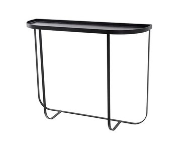 Bloomingville Harper console table black iron