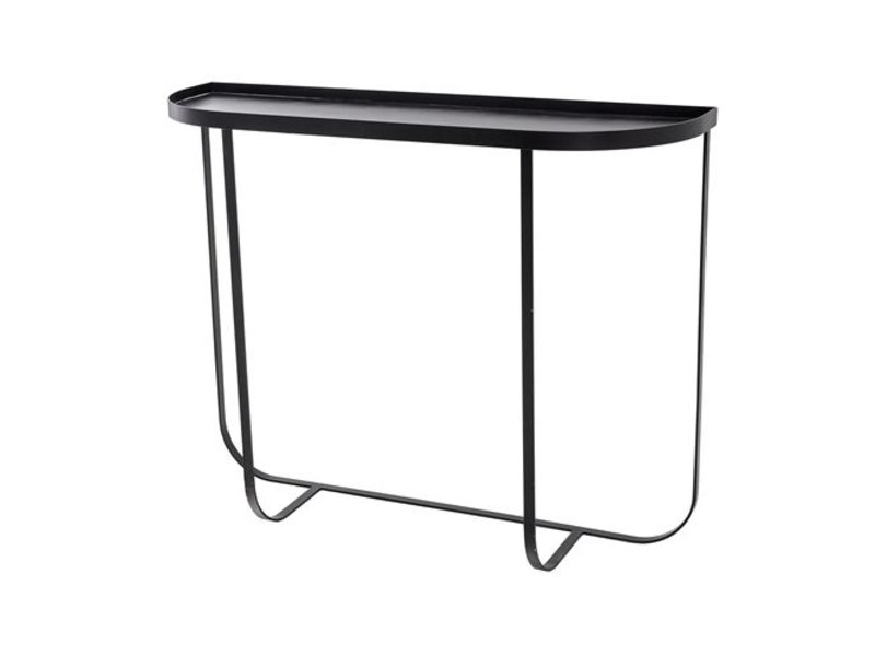 Bloomingville Harper console table black - LIVING AND CO.