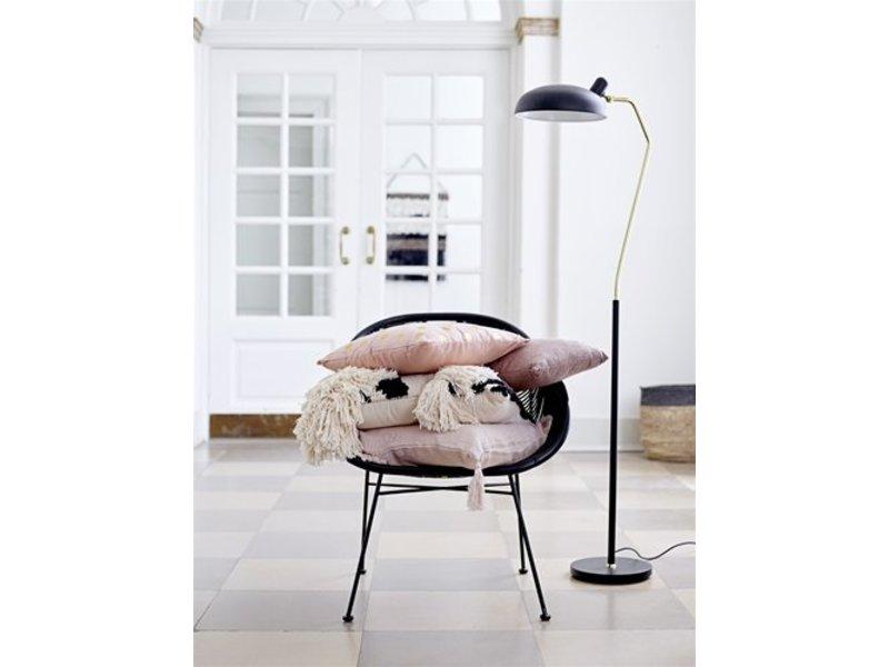 bloomingville floor lamp black gold metal living and co. Black Bedroom Furniture Sets. Home Design Ideas