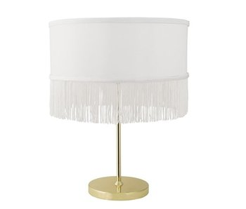 Bloomingville Bordlampe guld metal
