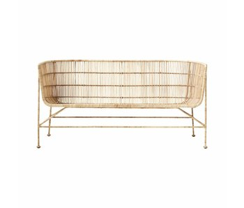 House Doctor Coon rattan sofa