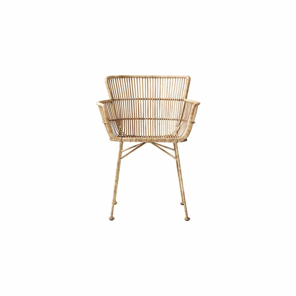 House doctor coon natural rattan chair living and co - Sedia sospesa rattan ...