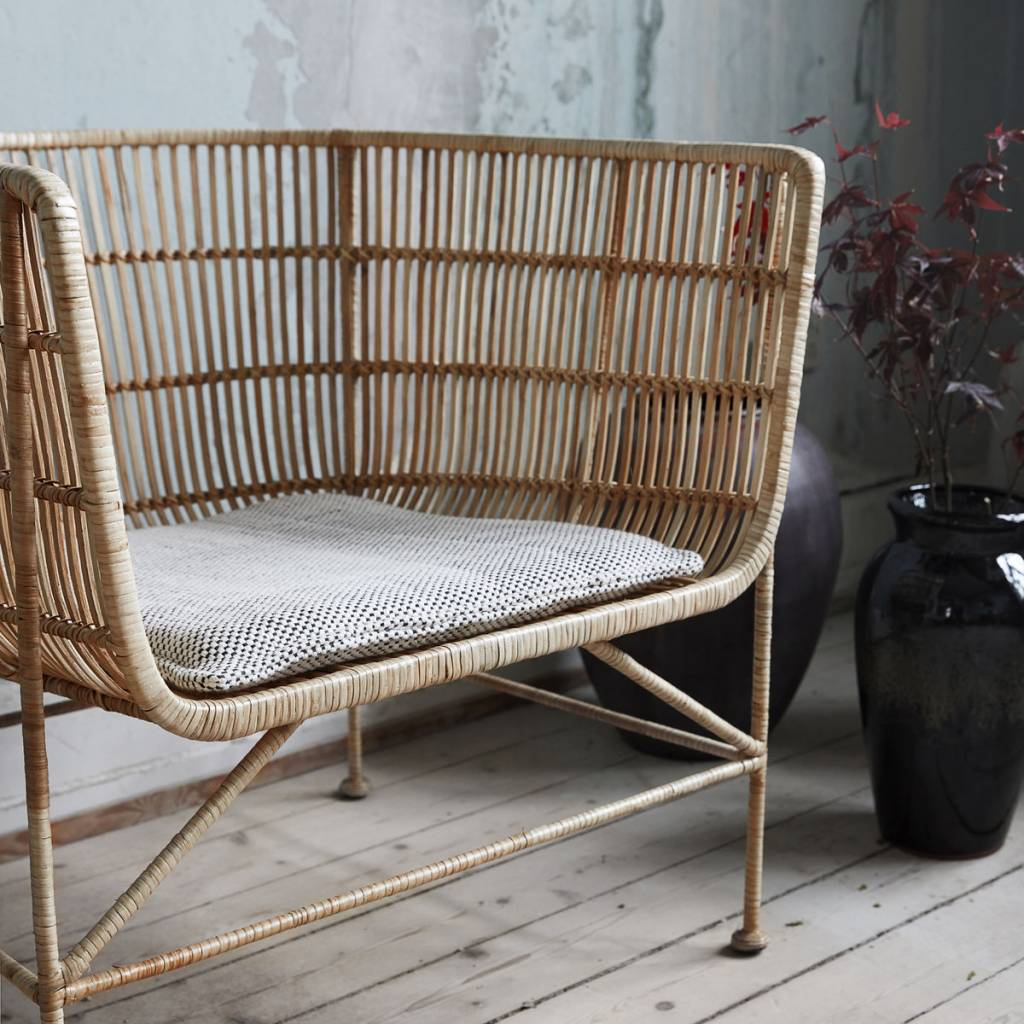 House Doctor Coon Natural Rattan Chair Living And Co