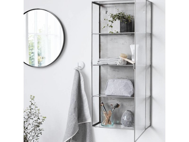 House Doctor Zinc display cabinet - LIVING AND CO.