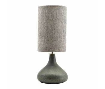House Doctor Diya table lamp green