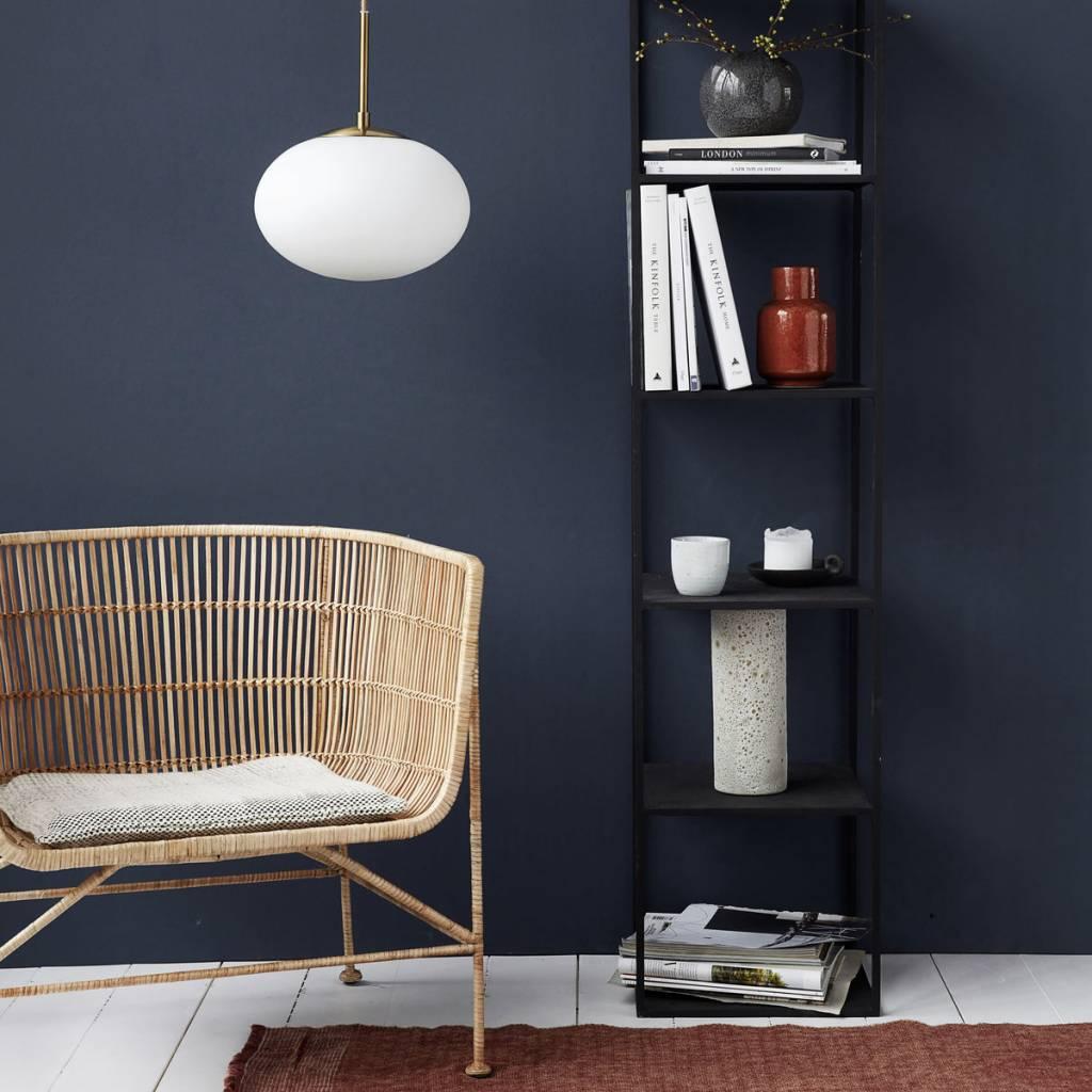 house doctor opal hanging lamp brass living and co. Black Bedroom Furniture Sets. Home Design Ideas
