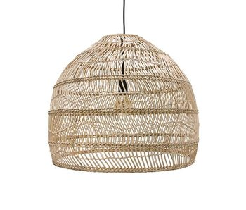 HK-Living Hanglamp riet naturel