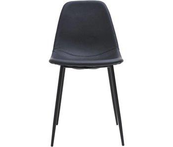 House Doctor Bildet schwarzen Stuhl Satz 2