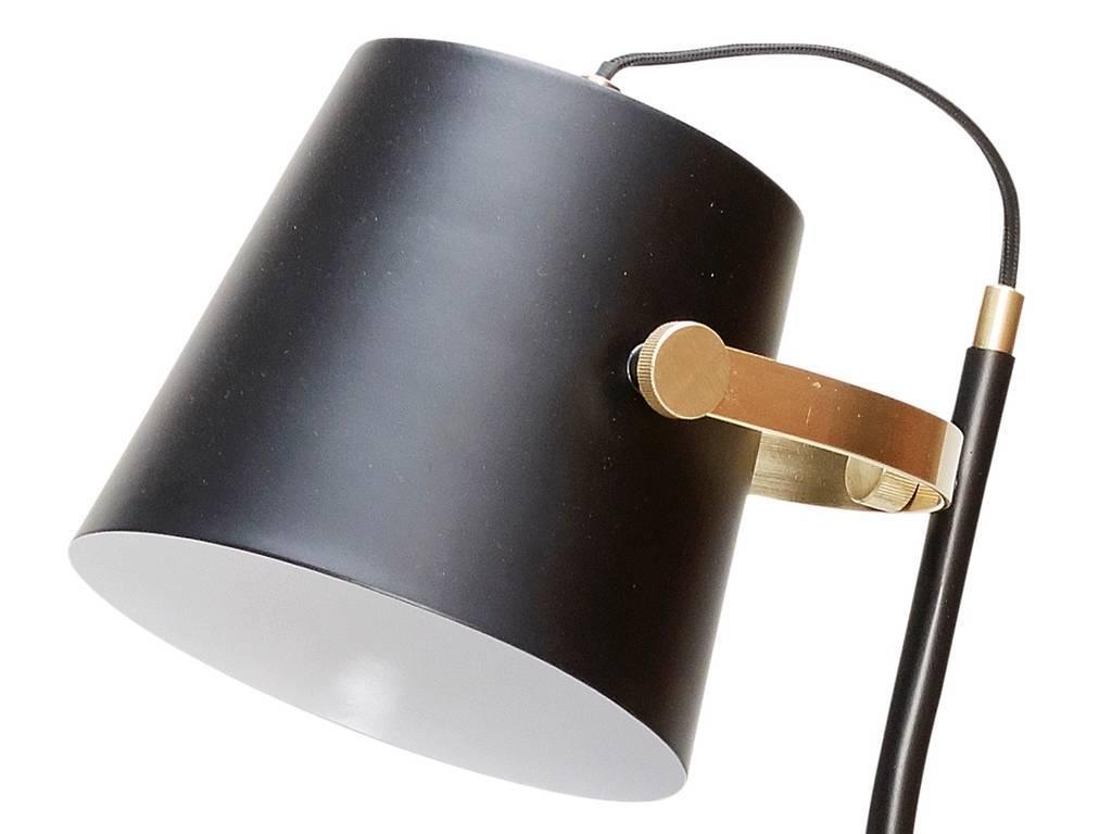 Hübsch Floor lamp black 25x36xh140cm LIVING AND CO