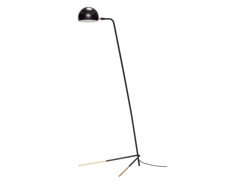 Hubsch Standerlampe sort 62x80xh150cm