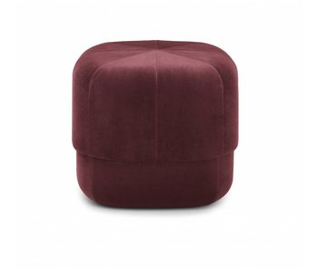 Normann Copenhagen Circus Pouf Small red