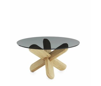 Normann Copenhagen Ding coffee table smoke oak