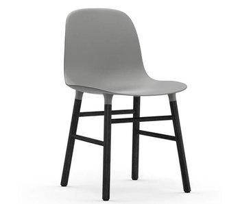 Normann Copenhagen Form Stol sæde sort grå