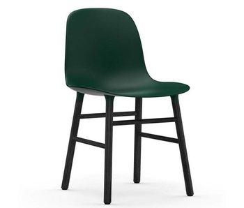 Normann Copenhagen Form Stol sæde sort grøn