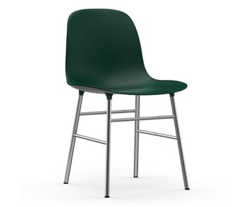 Normann Copenhagen Form Chair chrome green
