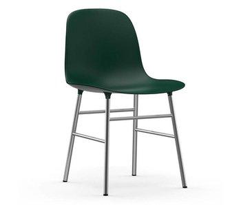 Normann Copenhagen Form Chair stoel chroom groen