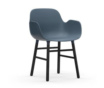 Normann Copenhagen Form Armchair black blue