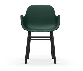 Normann Copenhagen Form Armchair black green