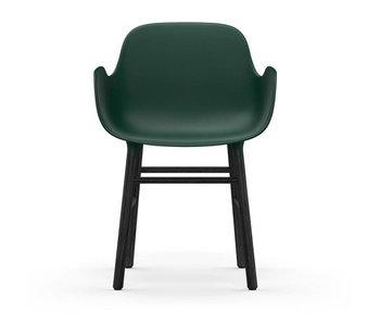 Normann Copenhagen Form Sessel Sitz schwarz grün
