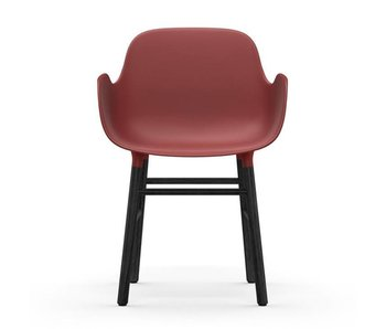 Normann Copenhagen Form Armchair black red