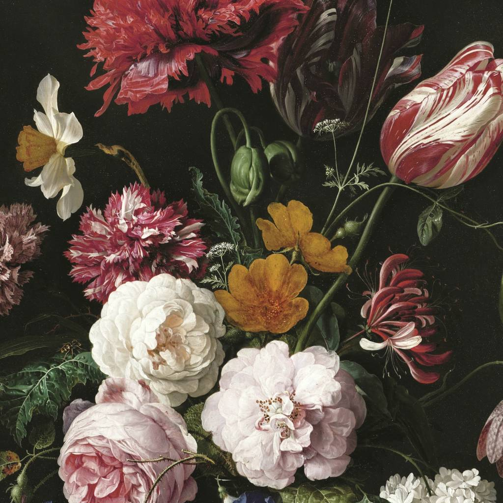 Kek amsterdam flowers wallpaper living and co for Tapete blumen