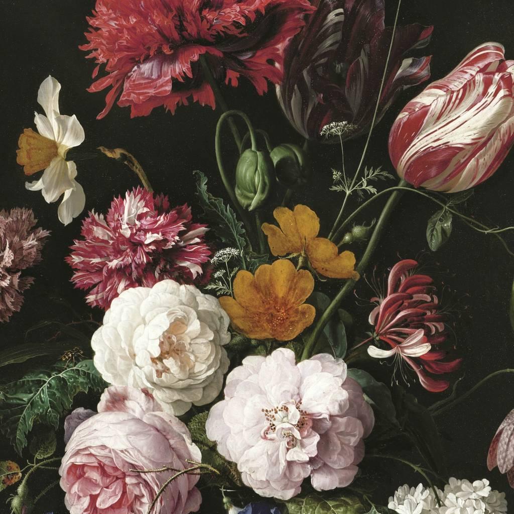 Kek amsterdam flowers wallpaper living and co for Carta da parati fiori grandi