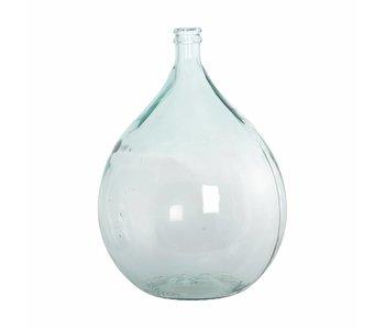 House Doctor Bottle glass vase